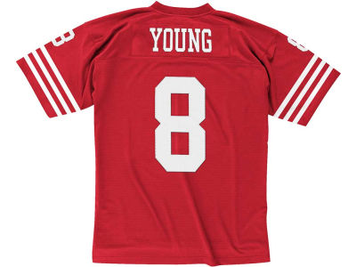 San Francisco 49ers Steve Young Mitchell & Ness NFL Replica Throwback Jersey