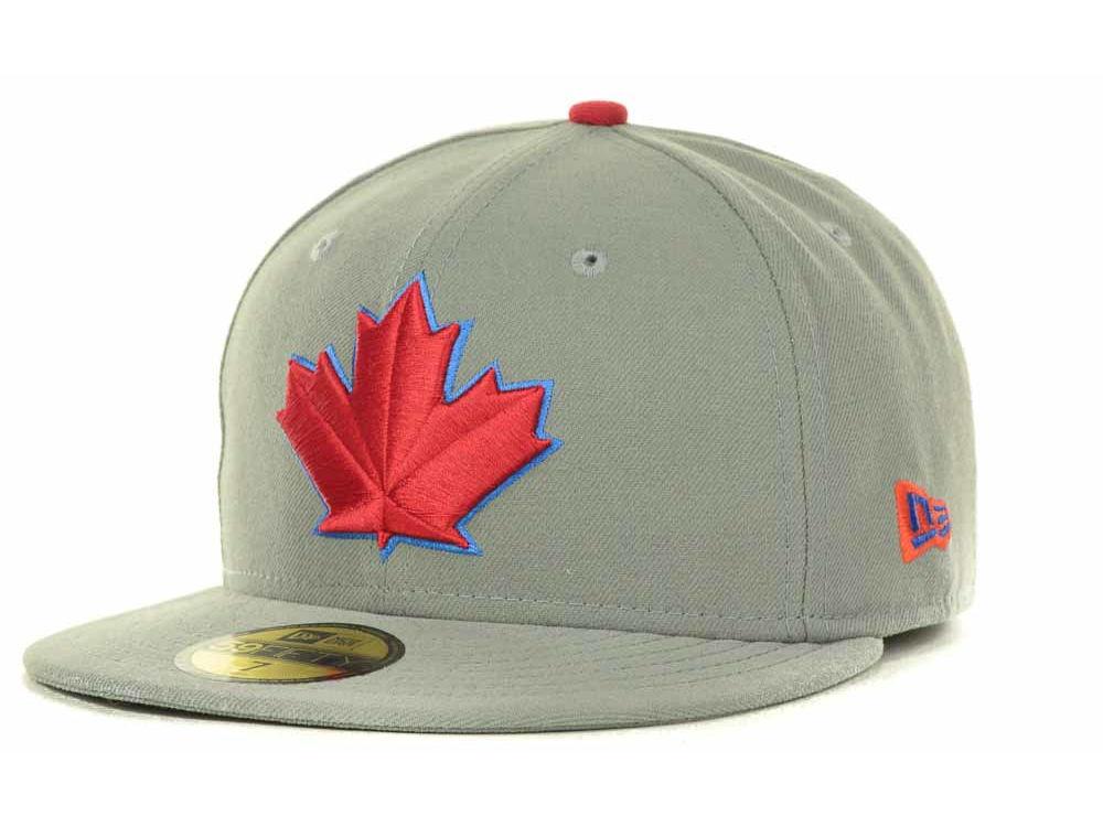 d290e131ec5 Toronto Blue Jays New Era MLB Canada Day Custom 59FIFTY Cap