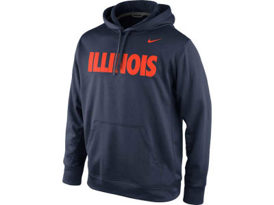 Illinois Fighting Illini Nike NCAA KO PO Hoodie 2013