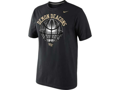 Wake Forest Demon Deacons Nike NCAA Fusion Power Glow Ball T-Shirt