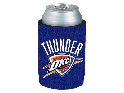 Oklahoma City Thunder Glitter Can Coozie