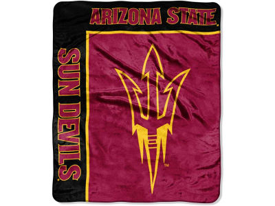 Arizona State Sun Devils 50x60in Plush Throw Team Spirit