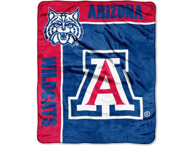 Arizona Wildcats 50x60in Plush Throw Team Spirit
