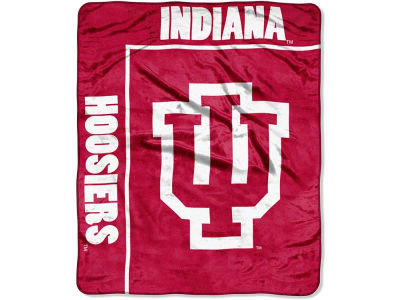 Indiana Hoosiers 50x60in Plush Throw Team Spirit