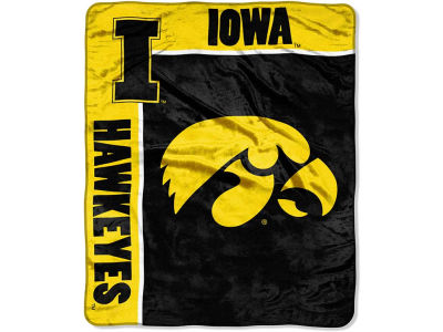 Iowa Hawkeyes 50x60in Plush Throw Team Spirit