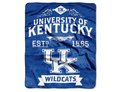 Kentucky Wildcats 50x60in Plush Throw Team Spirit
