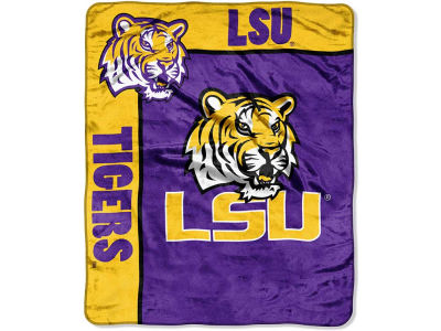LSU Tigers 50x60in Plush Throw Team Spirit