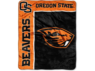 Oregon State Beavers 50x60in Plush Throw Team Spirit