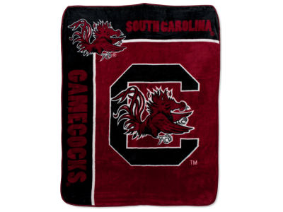 South Carolina Gamecocks 50x60in Plush Throw Team Spirit