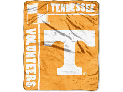 Tennessee Volunteers 50x60in Plush Throw Team Spirit