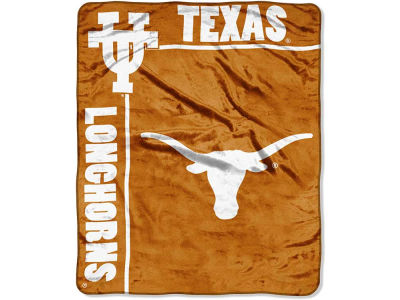 Texas Longhorns 50x60in Plush Throw Team Spirit