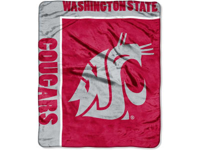 Washington State Cougars 50x60in Plush Throw Team Spirit