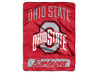 Ohio State Buckeyes The Northwest Company Micro Raschel 46x60 Varsity Bed & Bath