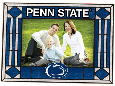 Penn State Nittany Lions Art Glass Picture Frame