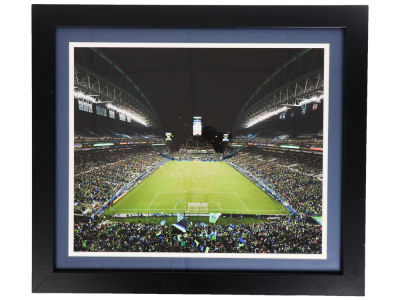 "Seattle Sounders FC Double Color Mat Photo 22""x25"""