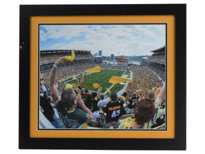 "Pittsburgh Steelers Double Color Mat Photo 22""x25"""