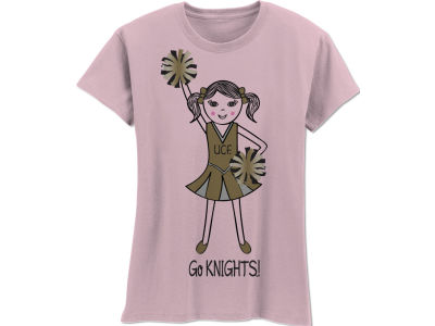 University of Central Florida Knights NCAA Girls MYU Cheer T-Shirt