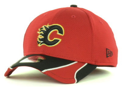 Calgary Flames New Era NHL Training 39THIRTY Cap