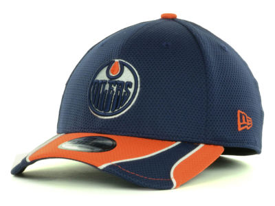 Edmonton Oilers New Era NHL Training 39THIRTY Cap