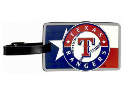 Texas Rangers Soft Bag Tag