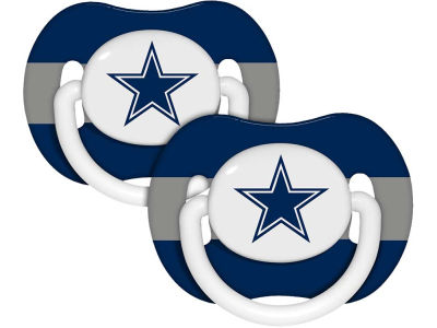 Dallas Cowboys 2-pack Pacifier Set