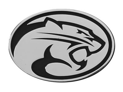 Houston Cougars Metal Auto Emblem