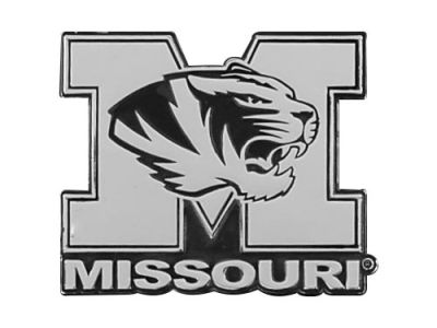 Missouri Tigers Metal Auto Emblem
