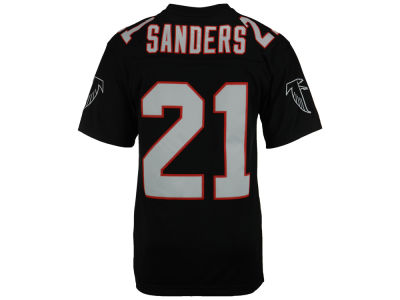 Atlanta Falcons Deion Sanders Mitchell and Ness NFL Replica Throwback Jersey