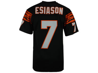 Cincinnati Bengals Boomer Esiason Mitchell and Ness NFL Replica Throwback Jersey