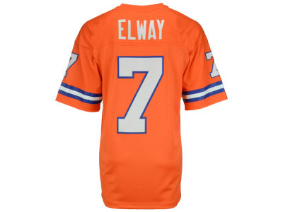 Denver Broncos John Elway Mitchell and Ness NFL Replica Throwback Jersey