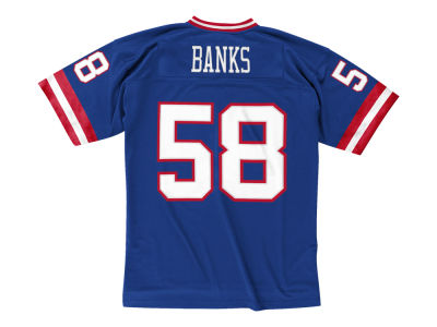 New York Giants Carl Banks NFL Replica Throwback Jersey
