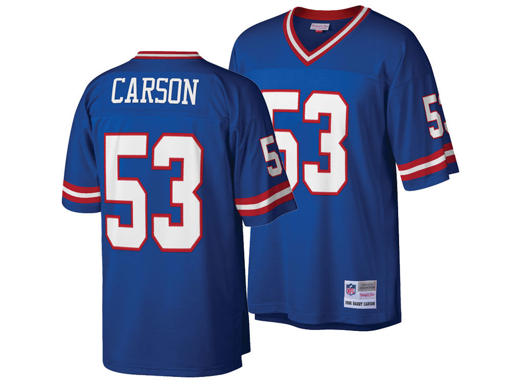New York Giants Harry Carson Mitchell   Ness NFL Replica Throwback Jersey  f8f83301a