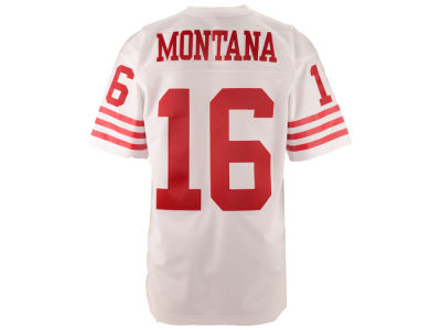 San Francisco 49ers Joe Montana Mitchell and Ness NFL Replica Throwback Jersey