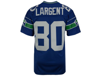 Seattle Seahawks Steve Largent Mitchell and Ness NFL Replica Throwback Jersey