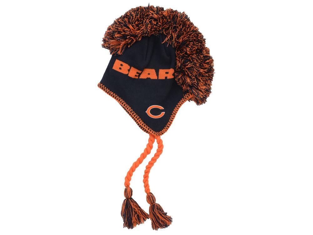 04ac8836519 ... buy chicago bears outerstuff nfl out mohawk knit hat 2083e d905e ...