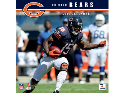 Chicago Bears 2014 12x12 Team Wall Calendar