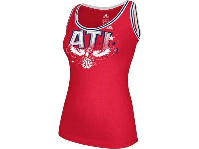 Atlanta Hawks adidas NBA Womens Scoop Neck Tank