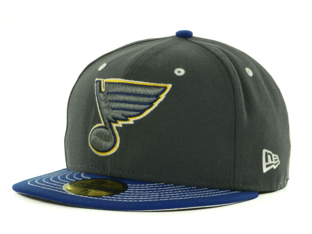 0283fe85bb7 St. Louis Blues New Era NHL Graph Team Color Pop 59FIFTY Cap
