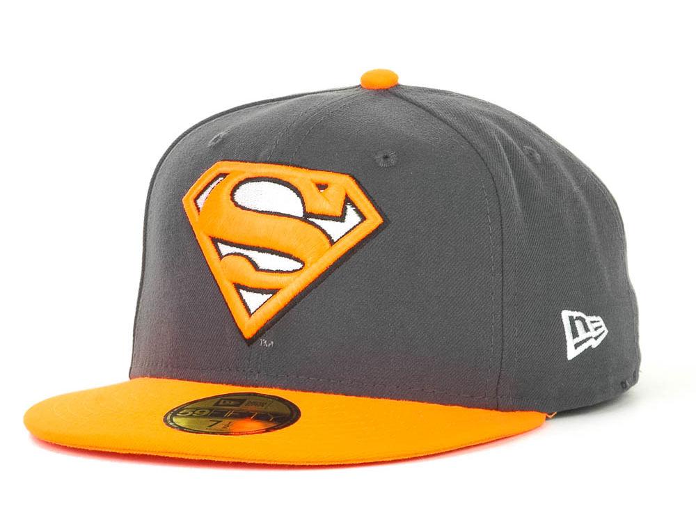 7a717b5ab Superman New Era Neon Graphite 59FIFTY Cap