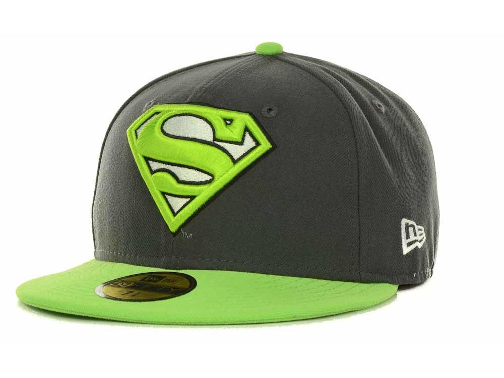 free shipping fe201 1b83a ... shopping superman new era neon graphite 59fifty cap e804f 46d01