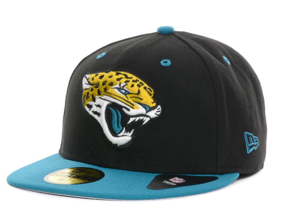 44b061f9a62 Jacksonville Jaguars New Era NFL 2 Tone 59FIFTY Cap