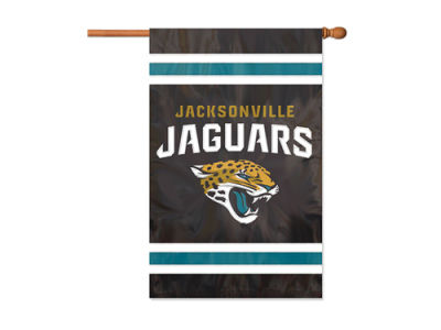 Jacksonville Jaguars Applique House Flag