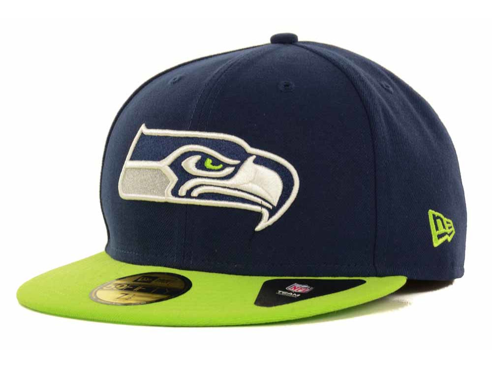 cheap for discount 1e1cc b598f shop seattle seahawks new era nfl 2 tone 59fifty cap b8abe 98bc2