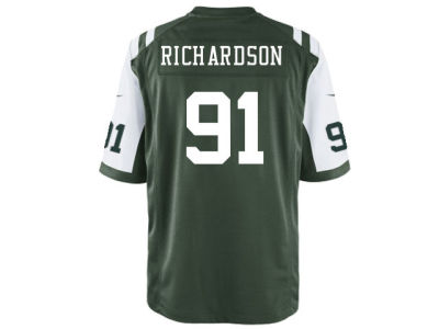 New York Jets Sheldon Richardson Nike NFL Men's Game Jersey
