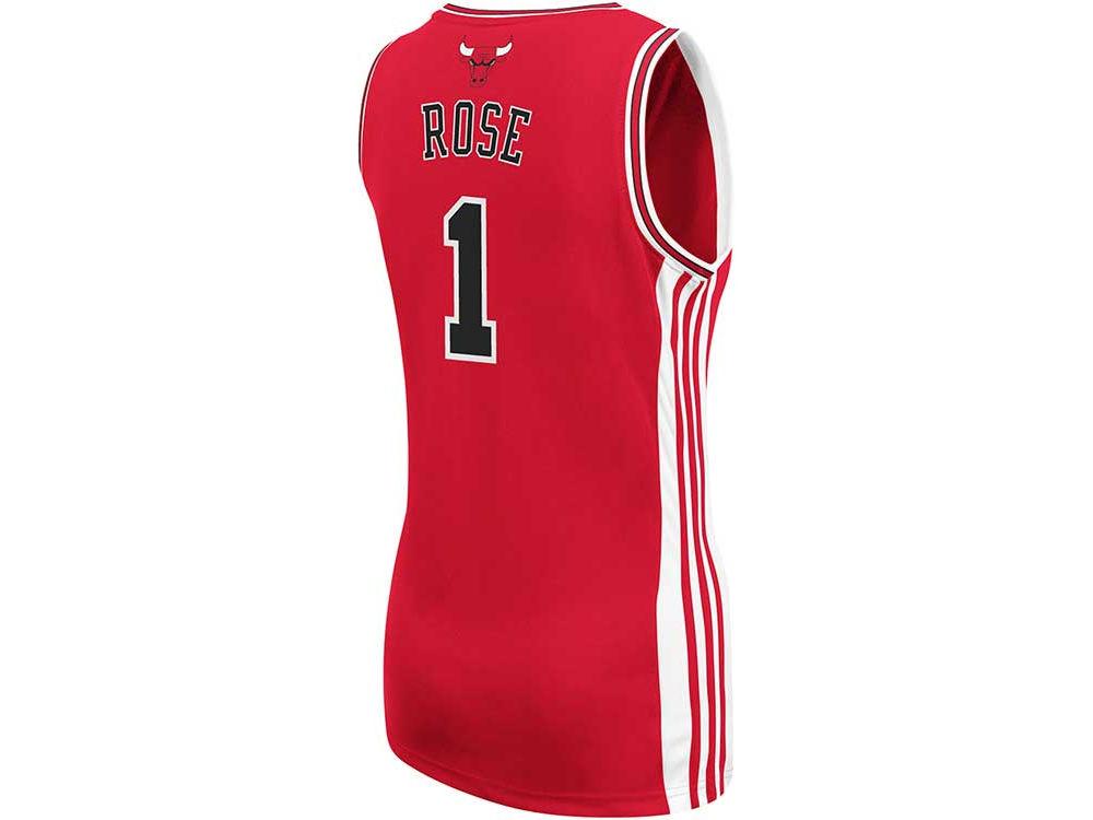 Chicago Bulls Derrick Rose adidas NBA Womens Replica Jersey  82b3e6dc64