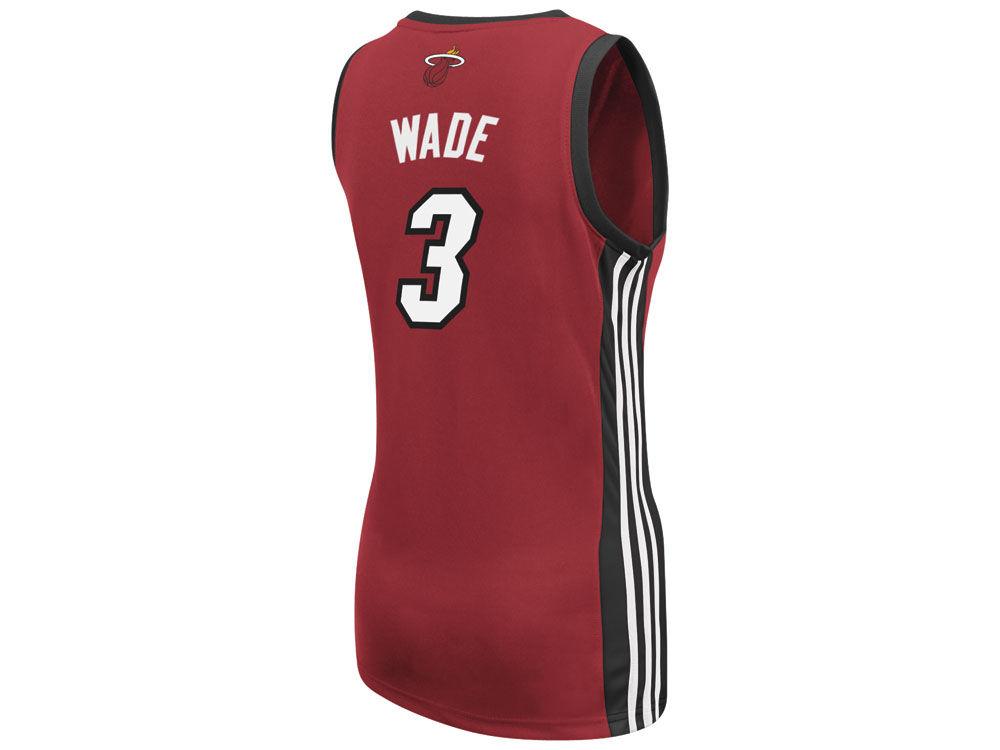 Miami Heat Dwyane Wade adidas NBA Womens Replica Jersey  ad2ffac82