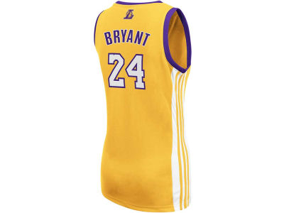 Los Angeles Lakers Kobe Bryant adidas NBA Womens Replica Jersey