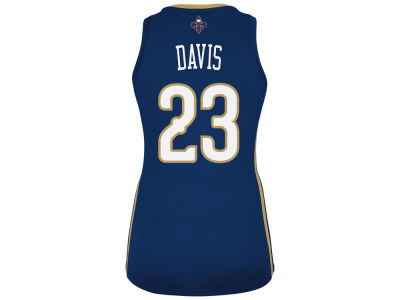 New Orleans Pelicans Anthony Davis adidas NBA Womens Replica Jersey