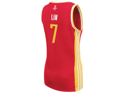 Houston Rockets Jeremy Lin adidas NBA Womens Replica Jersey