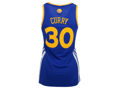 Golden State Warriors Stephen Curry adidas NBA Womens Replica Jersey